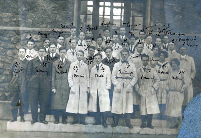 Trombinoscope de la 44e promotion de l'ESPCI