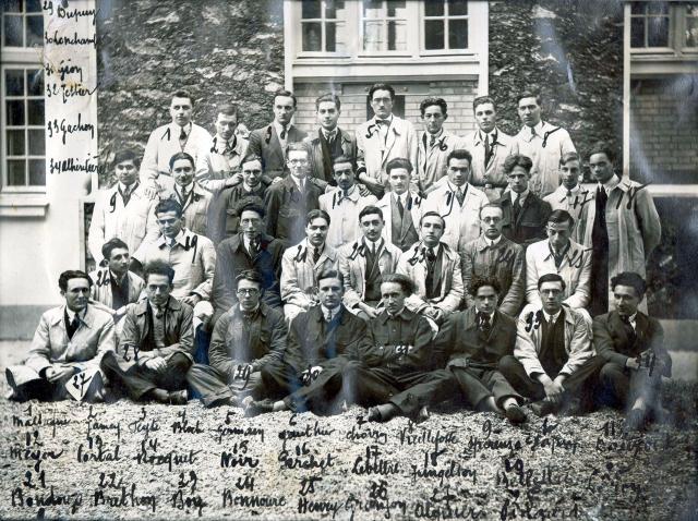 Trombinoscope de la 46e promotion de l'ESPCI