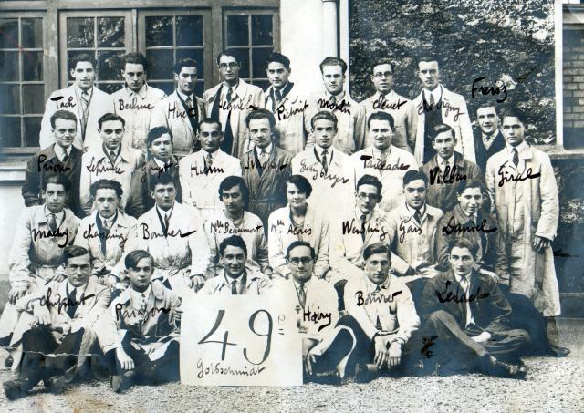 Trombinoscope de la 49e promotion de l'ESPCI