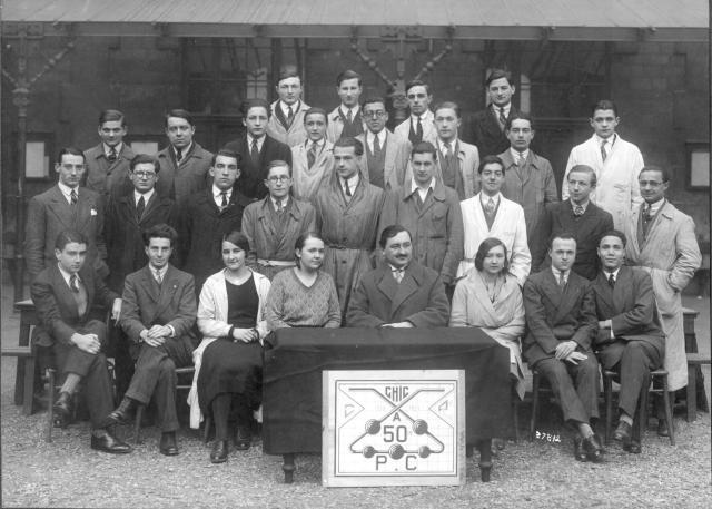 Trombinoscope de la 50e promotion de l'ESPCI