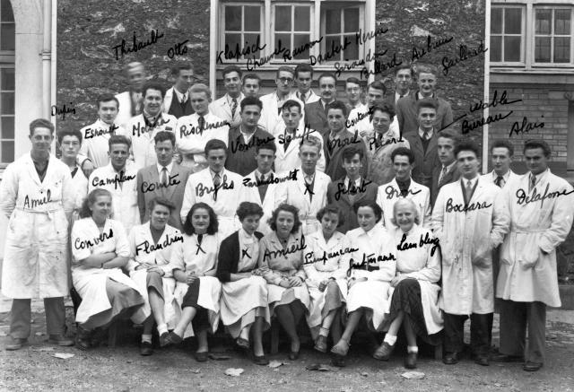 Trombinoscope de la 71e promotion de l'ESPCI