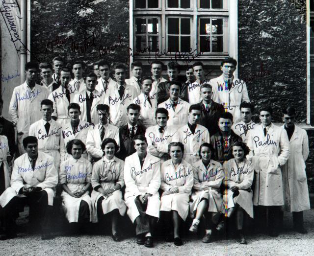 Trombinoscope de la 72e promotion de l'ESPCI