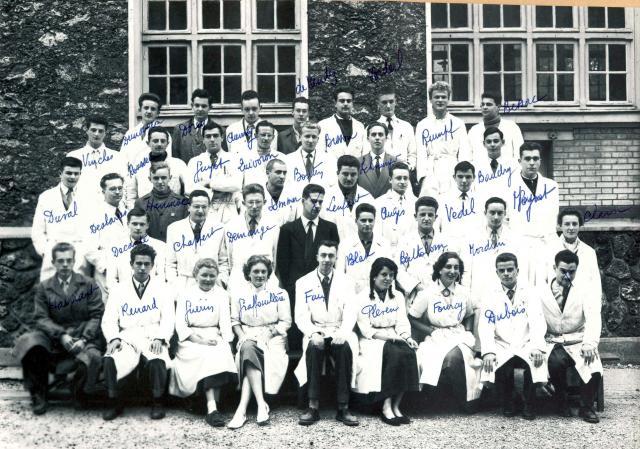 Trombinoscope de la 74e promotion de l'ESPCI