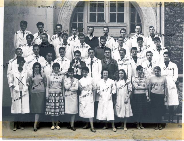 Trombinoscope de la 78e promotion de l'ESPCI