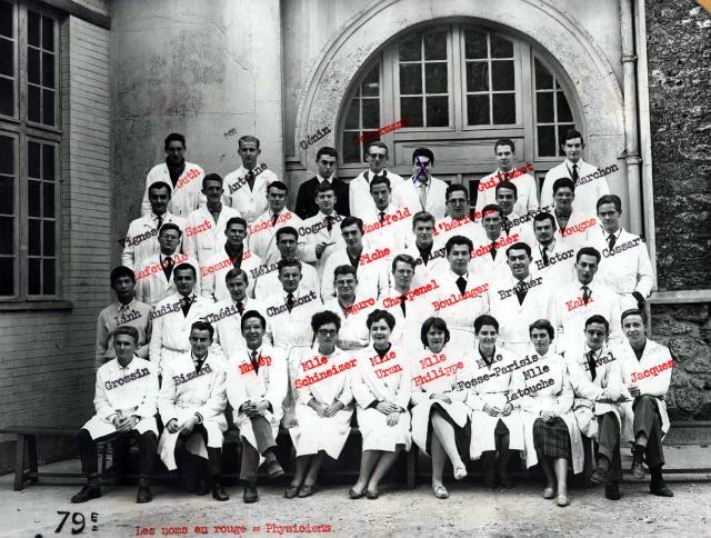 Trombinoscope de la 79e promotion de l'ESPCI