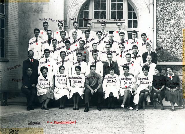 Trombinoscope de la 80e promotion de l'ESPCI