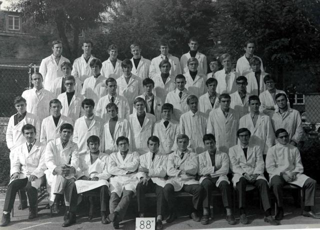 Trombinoscope de la 88e promotion de l'ESPCI