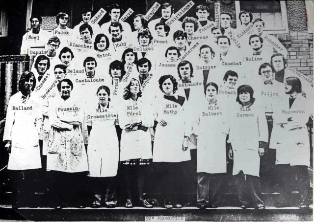 Trombinoscope de la 92e promotion de l'ESPCI